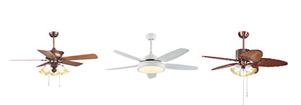 LED Ceiling Fan w/ Lights