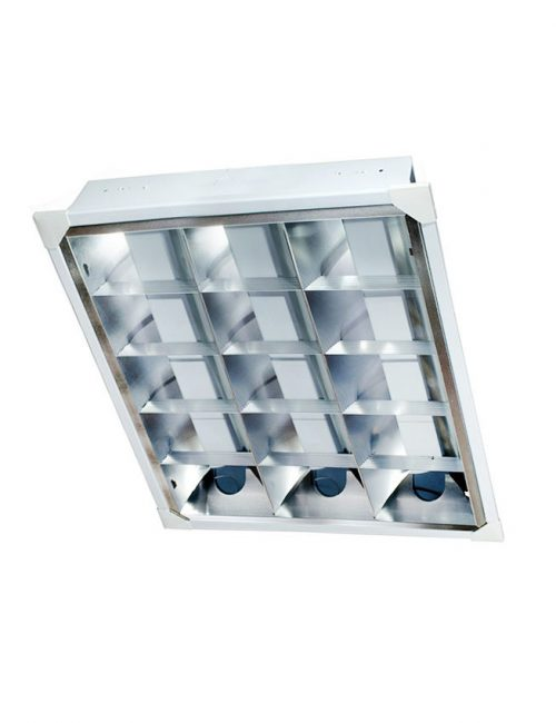 LED Housing and Fixtures Philippines T8 Tubelight Mirrorized Reflector IP 40 G13