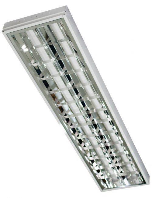 LED Housing and Fixtures Philippines Louver Surface Mount 12″x48″ 2x40