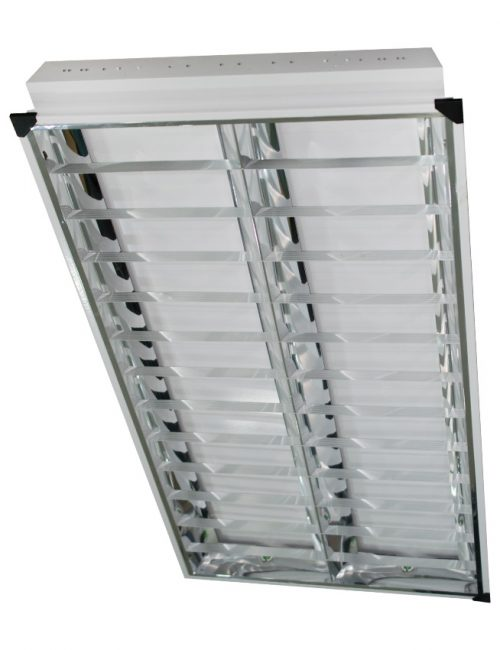 "LED Housing and Fixtures Philippines Louver Surface Mount Recessed 24""x48"" 2x40"