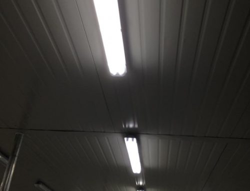 Weatherproof housing and LED Tube Lights installation