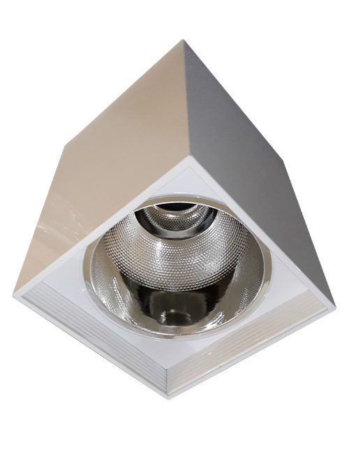 LED Housing and Fixtures Philippines Bulb E27 White Square Surface Mounted