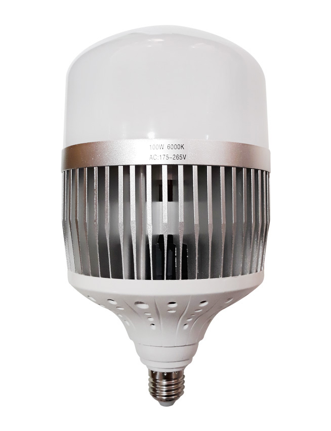High-Powered LED Bulb 100W Daylight Light High Power 100 Watts Warm Nature White