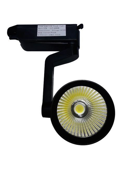 LED Track Lights Philippines Black 27W COB Daylight
