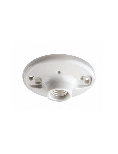 Bulb Ceiling Mounted Receptacle Porcelain