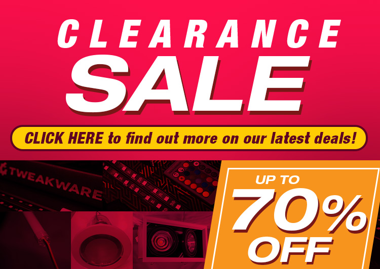 LED Lights Clearance Sale up to 70% discount on selected led lighting items