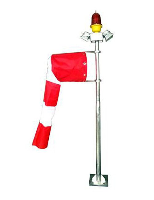 Helipad Wind Cone with Red & White Wind Sock Philippines Acrylic