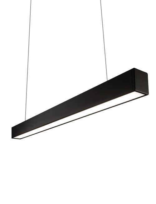 LED Pendant Light Philippines Black Hanging Linear Light