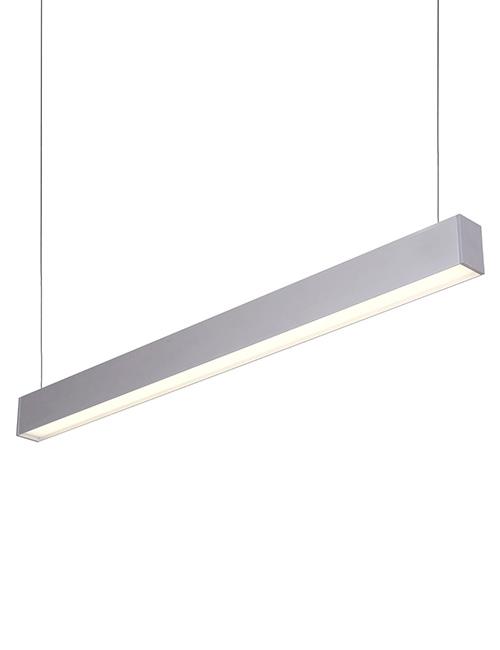 the best attitude 97bd1 16124 LED Pendant Light White Hanging Linear Light | Office ...