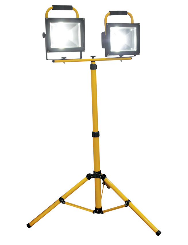 LED Canopy Light Philippines 2x30W 30 Watts Rechargeable Flood Light Single Head Stand