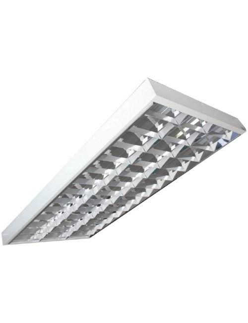 "LED Housing and Fixtures Philippines 3x40 Tube Light Box Type Louver Housing 24"" x 48"""
