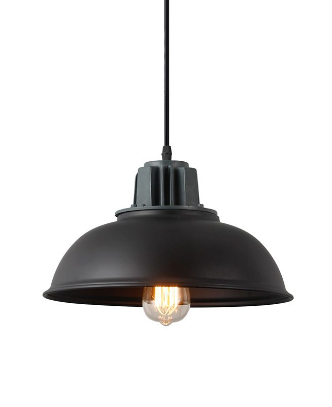 Industrial Pendant Light Warehouse Dome Style