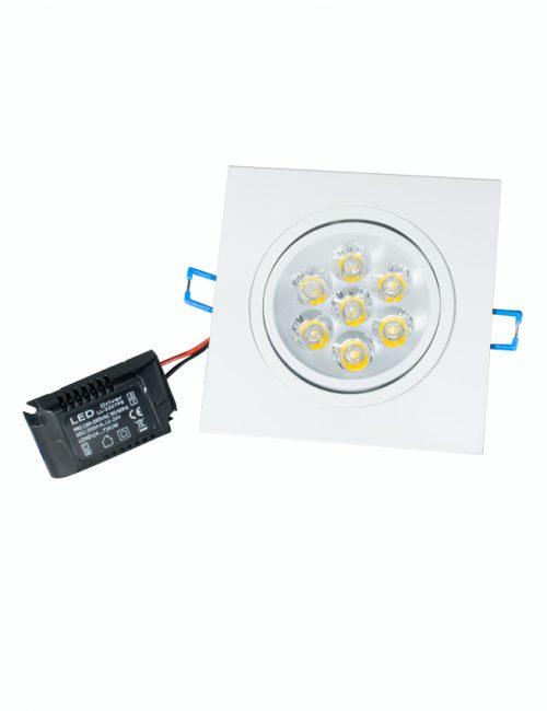LED Downlight Philippines 7 Watts 7W SMD Square Daylight Warm Cool Nature White