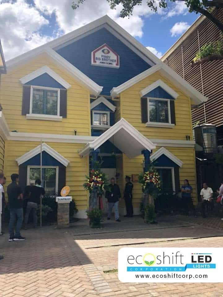 Pinoy Big Brother PBB OTSO ABS-CBN LED Lighting Support Ecoshift Philippines