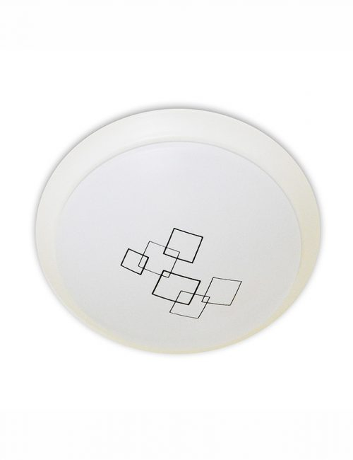 Decorative LED Ceiling Light 18 Watts Daylight 18W Collection Design Philippines Metal Glass