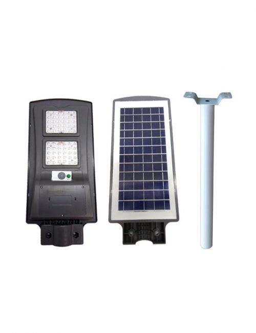 led solar street light economy type 60W SMD dl with arm