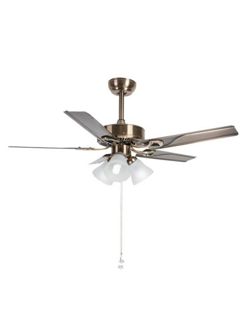 Ceiling Fan with Light Bronze Wooden Blade Fixture Housing LED Lights Supplier Philippines