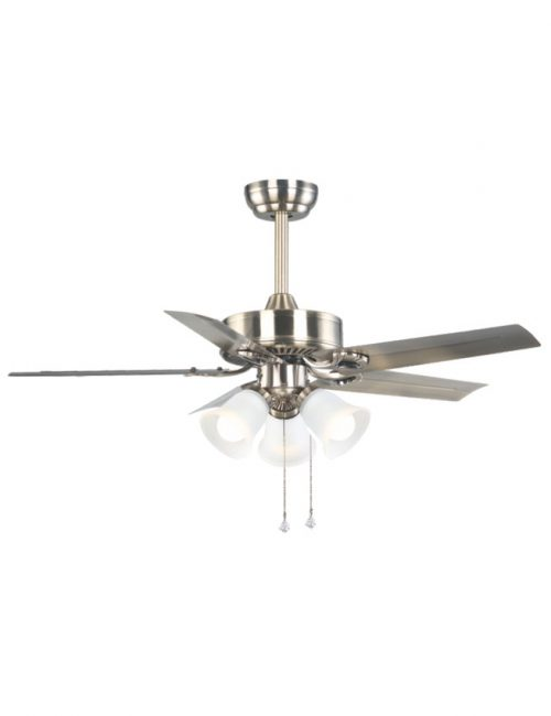 Ceiling Fan with Light 5 Silver Blade Fixture Housing LED Lights Supplier Philippines
