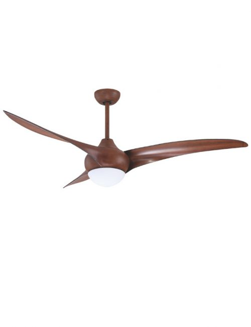 Ceiling Fan with Light Brown Wooden Blade Fixture Housing LED Lights Supplier Philippines