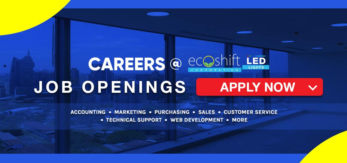Careers at Ecoshift Corporation Philippines Job Openings and Opportunities