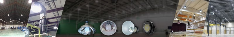 "LED HIGHBAY LIGHTS<div id=""epl-title2"">Industrial Type • Economy Type • UFO Type</div>"
