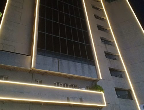 LED Facade Neon Lights