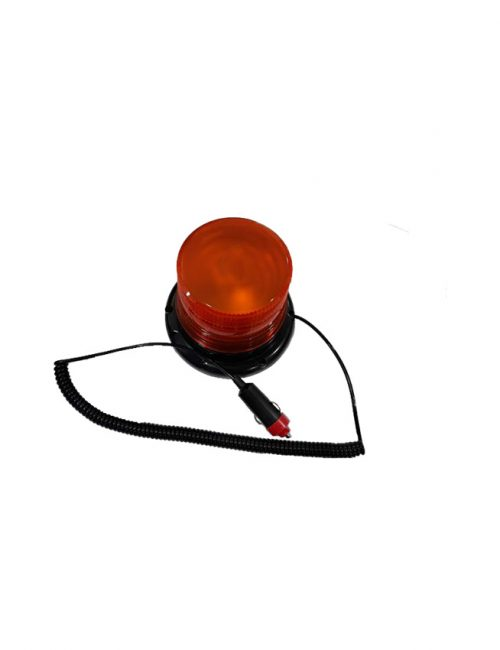 LED Rotating Warning Light 5 Watts Orange