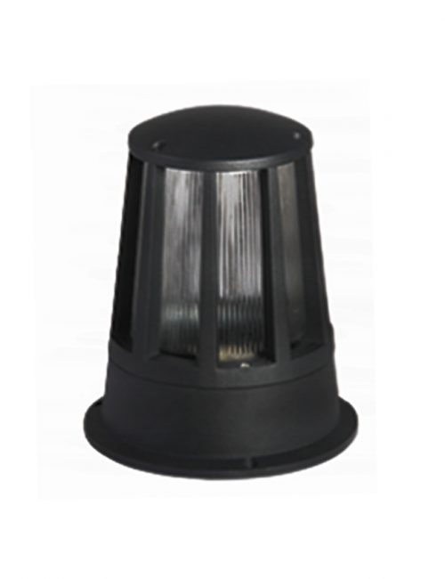 LED Wall Lamp Black Outdoor Fixture