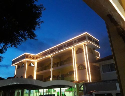 Facade Lighting Project | LED Rope Lights