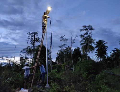 LED Solar Street Light | Brgy. Cabinuangan, New Bataan, Davao 2020