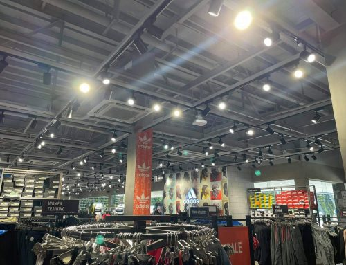 Adidas Outlet Store Lighting Project